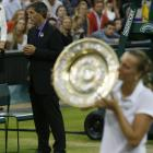 Best shots from the Wimbledon women's final