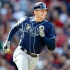 Following the 2012 season, Tampa Bay Rays third baseman Evan Longoria agreed to a new contract through 2022 that adds six guaranteed seasons and $100 million. The agreement with the three-time All-Star incorporated the remainder of the 27-year-old's existing contract, which called for him to earn $36.6 million over the next four seasons. The new deal includes a team option for 2023.