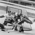 The fanatical forward won three Soviet MVPs and three Olympic gold medals, but he was best known for his absurdly punishing workouts -- he weighted his sticks and his pads, he performed skating drills with skips and jumps to perfect his balance and he insisted that the largest defensemen on his own team pound his 5-foot-9 frame regularly in practice to prepare him for the rigor of games. Firsov was left off the roster of the national team for the 1972 Summit Series in what some said was a political slap at his outspoken coach Anatoli Tarasov. -- Brian Cazeneuve