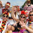 Germany's World Cup Celebration Parade