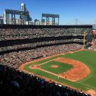 It was a beautiful day for baseball for a game between the Arizona Diamondbacks and San Francisco Giants at AT&T Park in San Francisco on Sunday, Sept. 20, 2015.