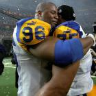 "To Rams defensive end Jay Williams: ""Is Ram a noun or a verb?"""