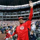 Griffey returned to ''The House that Griffey Built'' for the first time since being traded to the Cincinnati Reds in Feb. 2000. When traded, Griffey remarked that he was finally home in Cincinnati. But as the sellout crowd of 46,340 -- who cheered for Griffey for two minutes and 54 seconds --- and a lengthy Mariners video tribute showed, Griffey might have been home all along in Seattle. On that June night, it certainly felt like it.