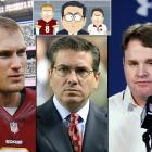 """Episode: """"Go Fund Yourself"""" (Original Air Date: Sept. 24, 2014) — Washington Redskins owner Dan Snyder visits the boys' corporate headquarters to plead with them to change their name."""