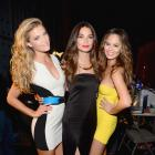Lily Aldridge, Nina Agdal and Chrissy Teigen :: Getty Images