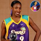 Memorable Moment — The Simpson family attends a WNBA basketball game at Springfield Square Garden, where a sign reads: 'Courtside Seats 30 Cents.' Lisa Simpson: ''Look, that's Lisa Leslie! She showed little girls everywhere that they can grow up to be 6-foot-5.'' Bart: ''Lisa Leslie, you got game!'' Leslie: ''I think you mean I have game. Try to speak correctly.'' Bart: ''You go girl!'' Leslie: ''Yes, I will depart, lest your bad grammar rub off on me.''