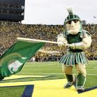 """A relic from a time when people decided to make humans look like weird Play-Doh men (also: see Boilermaker Special), Sparty is always active and in surprisingly good spirits, no matter how many """"Sparty No"""" moments pop up."""