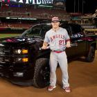Mike Trout was named the MVP of the 86th MLB All-Star Game for the second year in a row on July 14, 2015.  This year he choose a truck as an award over a sports car.