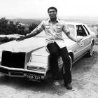 Muhammad Ali poses with his Chrysler in 1965.