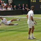 Best shots from the Wimbledon men's final