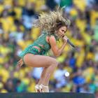 Singer Jennifer Lopez performs during the Opening Ceremony of the 2014 FIFA World Cup Brazil at Arena de Sao Paulo on June 12.