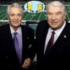 Memorable Moment — Summerall and Madden discuss their opinions on the episode at the end of the show. Summerall: ''Did it strike you as odd that in a Super Bowl show with Dolly Parton we didn't see any football or singing?'' Madden: ''I hadn't thought about it Pat, but in retrospect, it was kind of a rip-off! What a way to treat the loyal fans, who put up with so much nonsense from this franchise.'' Summerall: ''Any final thoughts?'' Madden: ''Nah, I'm too mad, let's get the heck out of here!''
