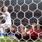 Michael Bradley's shot was excruciatingly saved off the line by Ricardo Costa in the 55th minute against Portugal.