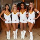 Washington Redskins Cheerleader Swimsuit Calendar release party