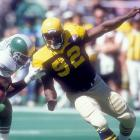 """Whether you left town on good terms or not, Eagles fans are going to boo you. White, arguably one of the greatest players in Eagles franchise history, heard more boos than cheers during his pregame introduction at Veterans Stadium in September 1994. """"One guy called me a traitor,"""" White said after the Eagles' 13-7 victory, """"But I thought the reception overall was good."""" Good for Philadelphia at least ..."""