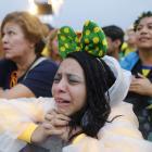 Distraught Brazil Fans