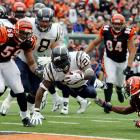 """One of the biggest comeback victories in Chargers' history was a noteworthy game for LaDainian Tomlinson. The running back was one of the top players in the NFL and would win that season's MVP award. Against the Bengals, he rushed for four touchdowns as San Diego recovered from a poor start, down 21-0 after the first quarter. """"Being involved in that game, it was like it was a cartoon or something,"""" Tomlinson said afterwards. The 1983 Chargers also won a game after falling behind by 21 to the Seahawks."""