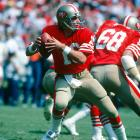 The 49ers were struggling in Bill Walsh's second season in charge and entered with a 5-8 record. The Saints, behind three Archie Manning touchdown passes, took a 35-7 lead into halftime. But Joe Montana, a part-time starter in his second year in the league, threw two touchdowns and ran for another to complete the biggest regular-season comeback in NFL history.