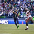 Seattle erased a 21-0 deficit against Tampa Bay after Russell Wilson threw a 10-yard touchdown pass to Doug Baldwin with 1:51 left in regulation to tie the game at 24-24 and Steven Hauschka kicked the game-winning 27-yard field goal with 8:11 left in overtime.