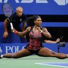Serena Williams did an inpromtu split during her match against Bethanie Mattek-Sands at the 2015 U.S. Open.