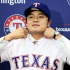 The former Cincinnati Reds outfielder had a slash line of .285/.423/.462 with 21 home runs and 20 stolen bases in 2013 before signing with the Texas Rangers. Choo also walked 121 times in 2013 and was considered a plus defender. Texas' contract offer to Choo was $10 million less than what the New York Yankees reportedly offered him earlier in the offseason: a seven-year, $140 million deal his agent Scott Boras declined.