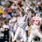 Despite being selected in the 5th round of the 1975 NFL draft, Grogan would spend his entire career with the Patriots before his retirement in 1990. He finished with almost 27,000 passing yards and 182 touchdowns.