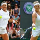 Shorts! Vika's back in shorts! We raved about her shorts in 2012 when she won her first major at the Australian Open, and we're happy to see them back. It's a flattering and sporty look for Azarenka.