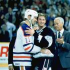 When Wayne Gretzky was traded from the Edmonton Oilers to the Los Angeles King in 1988, it was as if Canada had lost a family member. He was a hero who had won four Stanley Cups for the team, and when he left for the bright lights of Hollywood, the country felt betrayed. In Oct. 1988, those feelings of resentment had faded though, and a visiting Gretzky received a four-minute standing ovation from the Edmonton crowd.