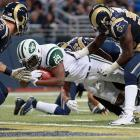 The Jets' quarterback situation is still in shambles, but at least this week Gang Green can rely on the ground game against a Jaguars unit that has allowed eight rushing touchdowns since the start of November. Powell will split carries with Shonn Greene, who has more yards the last three weeks but no touchdowns, compared to three for Powell.