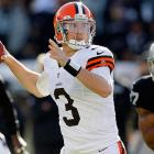 The Browns are on a roll, having won two straight games. Weeden is coming off of a 364-yard, one-touchdown showing against the Raiders. The Chiefs are averaging two touchdown passes allowed per road game this year and opposing passers have averaged a 101.7 rating against them away from Arrowhead. Only the Titans and aforementioned Raiders have been more forgiving to opposing passers. With a shaky receiving corps, Weeden is more of a gamble than fellow rookie Nick Foles, but he's worth a spot start for those in a jam.