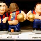 """The perfect, um, gift for the soccer fan in your life: a distinctive clay replica of Barcelona star Lionel Messi. According to our notes, """"Catalans hide caganers (defecators) in Christmas Nativity scenes and invite friends to hunt for them during celebrations. The caganers, which symbolize fertilizing the earth with dung, are believed to bring prosperity and luck for the coming year."""" Their bobbleheads must be charming, too."""