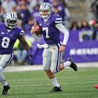 Klein's style of play isn't as flashy as others on this list, but it's hard to argue with his results. K-State's quarterback finished with 2,490 passing yards, 890 rushing yards and 49 total touchdowns for the Fiesta Bowl-bound Wildcats.