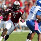 Te'o and Jones may boast better numbers in 2012, but Clowney can do things on the field that other defenders simply can't. The 6-foot-6, 256-pounder terrorized quarterbacks for 13 sacks, including 4.5 in South Carolina's regular-season finale against Clemson.