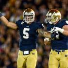 Not only was the Heisman runner-up the face of Notre Dame's unbeaten season, he was also one of college football's most electrifying linebackers. Te'o amassed 103 tackles and seven interceptions, one of which helped clinch the Irish's hard-fought victory at Oklahoma.