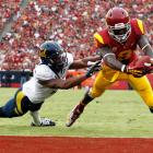 Though USC failed to live up to its billing this year, Lee emerged as the game's most electrifying wideout. He won the Biletnikoff Award after piling up 1,680 receiving yards, and he was equally deadly on special teams, averaging 28.6 yards per kick return, 10th in the FBS.