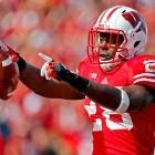 The record-setting Badgers running back has a nose for the end zone. He rushed for three touchdowns in four games this year, and he saved his best performance for last. Ball rolled over Nebraska for 202 yards and three scores in the Big Ten title game