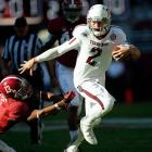 Johnny Manziel became the first freshman to ever win the Heisman Trophy. Manziel, who had been passed over by Texas, led Texas A&M to a 10-2 record and amassed 4,600 total yards.
