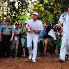 On the second playoff hole of the Masters, Bubba Watson hit a poor drive, but he was able to hook a wedge out of trouble and land his ball 10 feet from the cup.
