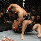 Velasquez inched closer to a UFC heavyweight title shot when he stopped Ben Rothwell early in the second-round of their UFC 104 meeting on Oct. 24, 2009.