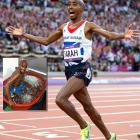 A bottle of water supposedly taken from an ice bath in which double Olympic gold medalist Mo Farah of Great Britain soaked during the London Games was for sale on eBay with a minimum bid of $1,000. <italics>Sept. 10 issue</italics>
