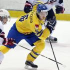 When Ottawa refused to release Mika Zibanejad for the tournament, Forsberg graduated from the chorus to a starring role with the defending champs. Washington's 2012 first-rounder has battled inconsistency this season but the Swedes named him captain, banking as much on his drive and willingness to sacrifice his body as his offensive creativity to set the tone for a team that may be hard-pressed to medal.