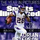 """Adrian Peterson's quick recovery from a major knee injury has been, in NFL great Jim Brown's words, """"a miracle."""" Peterson ran for over 2,000 yards this season, the seventh back in NFL history to reach that milestone, and finished just nine yards shy of breaking the single-season rushing mark in what was likely an MVP season. (Who would you add to the list? Send comments to siwriters@simail.com.)"""