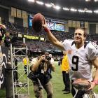 For the second consecutive year Drew Brees broke one of the biggest quarterback records in the game. This season Brees broke Johnny Unitas' 52-year record of 47 consecutive games with a touchdown pass. Brees' record-breaking 48th came on Oct. 7. Seven weeks later that streak came to an end at 54.