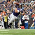 Pitta's importance has vastly increased with the recent struggles of wide receiver Torrey Smith. If Smith and Anquan Boldin have trouble getting going, Pitta could become the most important receiver in the red zone for quarterback Joe Flacco. With reliable hands and tremendous upper body strength, Pitta will be a key target for the Ravens in the playoffs.
