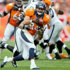 Peyton Manning makes anybody with hands a receiving threat, and Tamme is again thriving as one of his main targets. The tight end arrived in Denver with Manning and has been a critical short-yardage target. Tamme has caught 29 throws for first downs this season and has in turn opened the offense up for vertical threats Demaryius Thomas and Eric Decker. Tamme is one of Manning's most trusted colleagues, and the hunkering tight end can make life difficult for any defense.