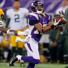 It's no secret that Adrian Peterson might be the sole reason the Vikings are in the playoffs, and the Vikings lack any significant receiving threats to help out an inconsistent Christian Ponder. With eight catches and 143 yards over his last two games, Wright may be the guy to help diversify Minnesota's offense if Michael Jenkins and Jerome Simpson struggle.