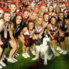 College Bowl Game Cheerleaders