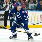 Though he has been somewhat overshadowed by teammates Martin St. Louis and Steven Stamkos in Tampa Bay, Lecavalier, still only 32, has been playing since the1998-99 season when he appeared in 82 games as a teenager. His career scoring numbers (373-469--842) are enough to mark him for future Hall of Fame consideration. He needs to play in just two more regular-season games to reach 1,000 for his career.