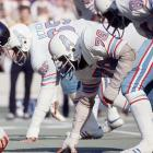 A nose tackle in the development of the 3-4 defense, Curley Culp clogged up the middle of the line, requiring double- and triple-teams to block him. Culp recorded his greatest season in 1975, picking up 11.5 sacks.