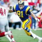 Kevin Greene made five Pro Bowls in his 15-season NFL career. Third all-time in sacks with 160, Greene led the league in sacks twice and has the most in a career by a linebacker. He had 10 seasons with double-digit sacks.